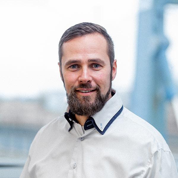 Portrait des Geschäftsführers Frank Collatz